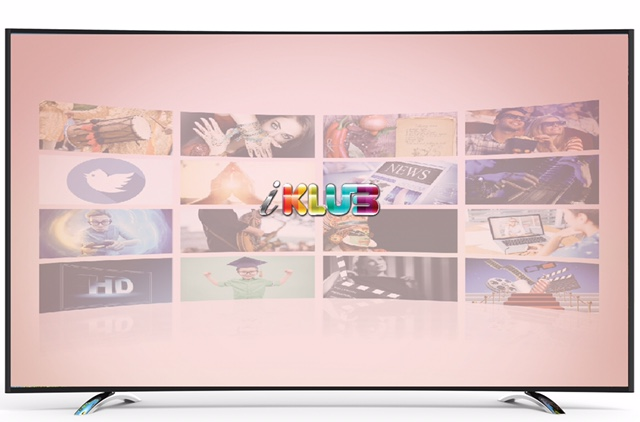 Philips 65inch Curve Ultra HD LED TV, Powered by iKlub - New Age Content Driven Platform'