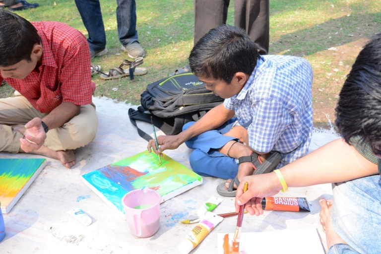 pune-biennale-workshop-with-50-differently-able-children-from-11-schools