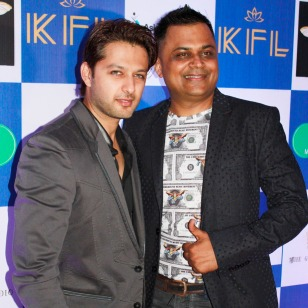 Vatsal Sheth ( Bollywood Actor) Badal Saboo (MD, Pune Fashion Week & Chairman Face of India)