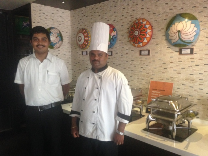 chef and host