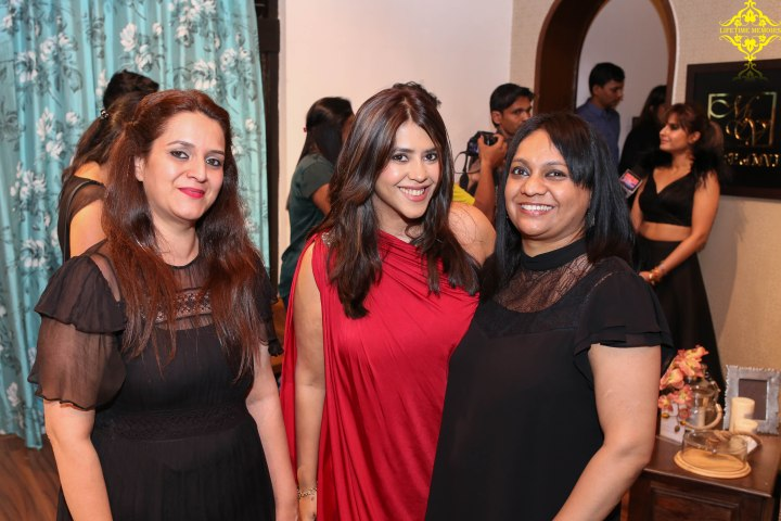 Moushmi Zaveri Sanas, EKta Kapoor and Channda Patil