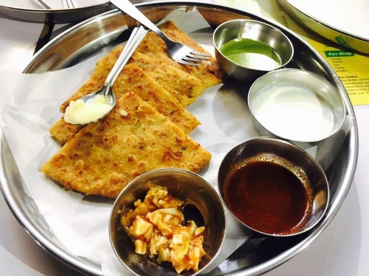 Pizza paratha, Nandu's Baner
