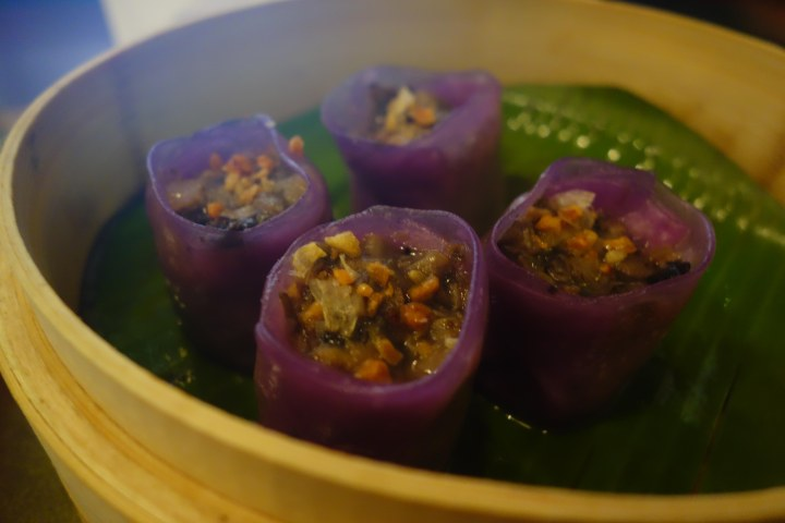 Three style mushroom dumplings, Mandarin and Mircchi.jpg