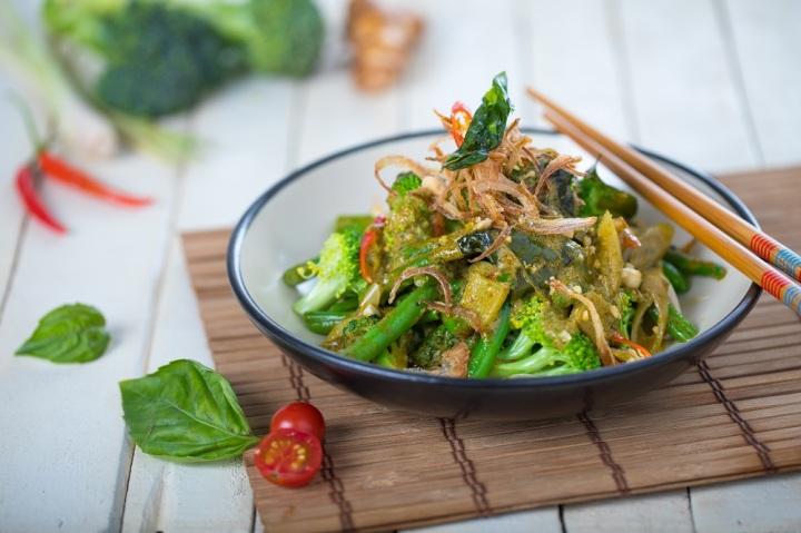 Pud-Thai Broccoli
