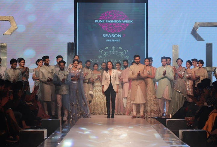 The Grand Finale by Nivedita Saboo Couture