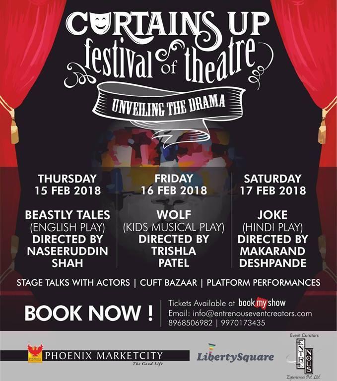 Curtains up festival of Theatre @ Phoenix Marketcity, Pune