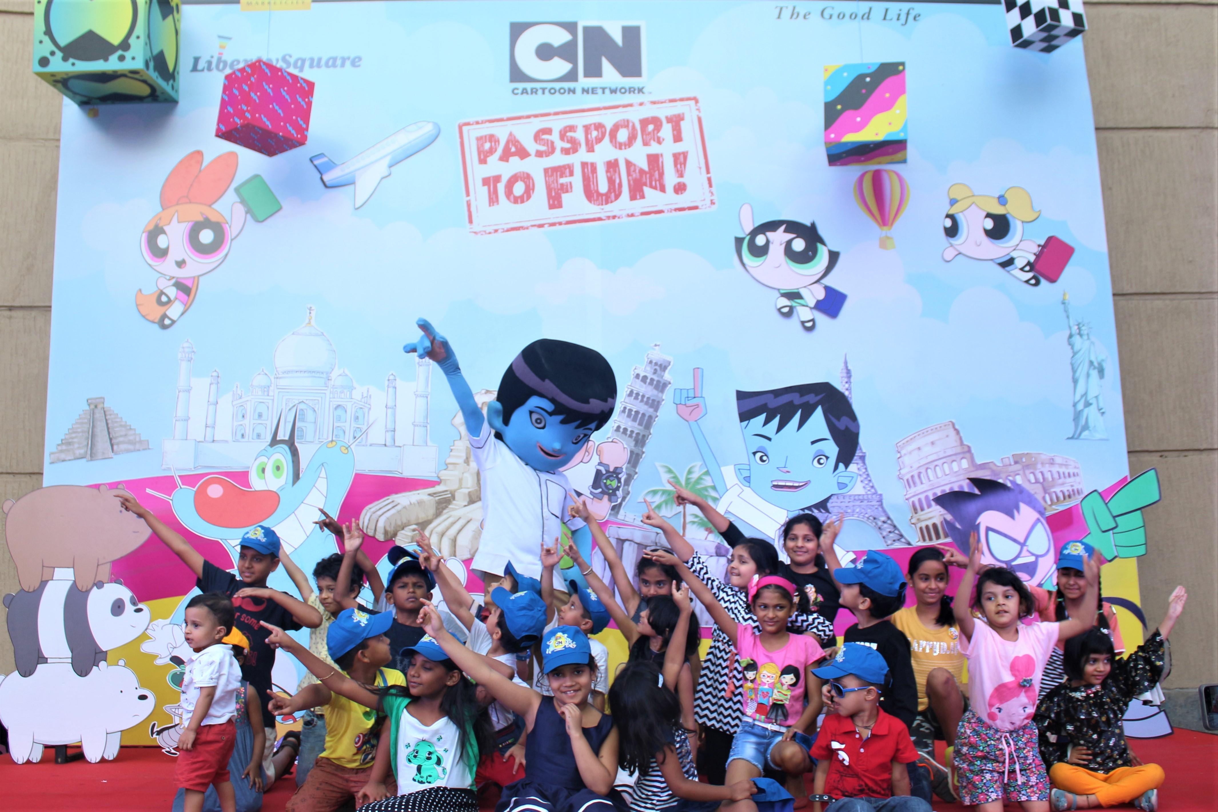 Passport to Fun with Cartoon Network characters @ Phoenix