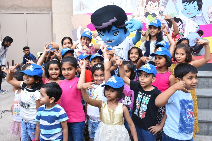 Passport to Fun with Cartoon Network characters @ Phoenix marketcity Pune!