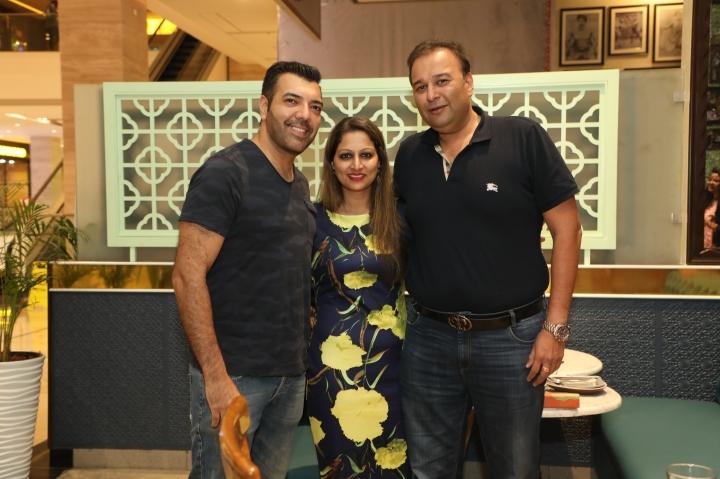 Rohit Chopra, Vidhya Tiwari & Dr Satyajit Nayak .JPG