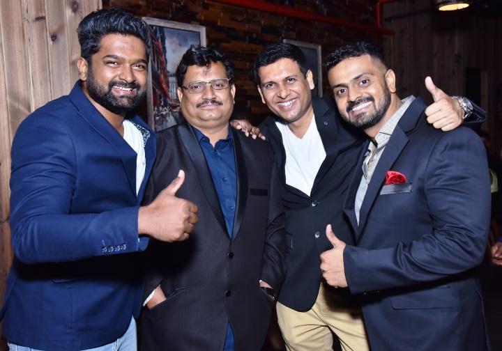 Karan Shewale, Subir Kotwal, Chetan Wadkar & Navin Waghulkar