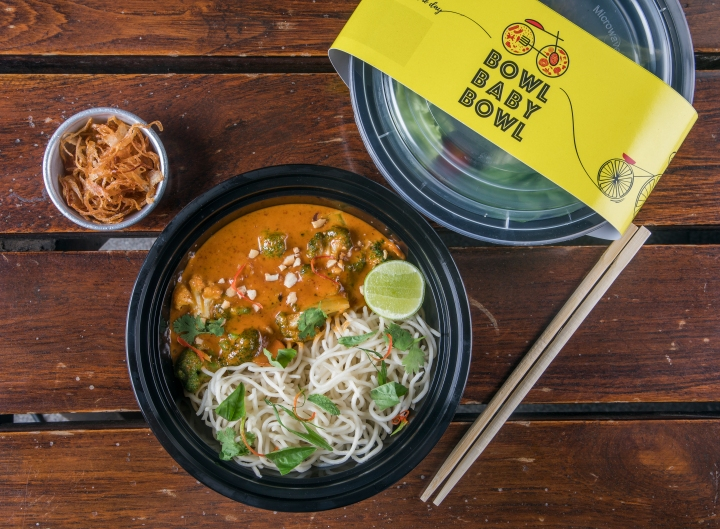 Laksa Noodle Bowl from Bowl Baby Bowl