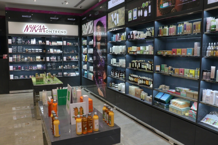 Nykaa Store at Westend Mall (2)