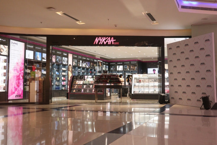 Nykaa Store at Westend Mall (frontage)