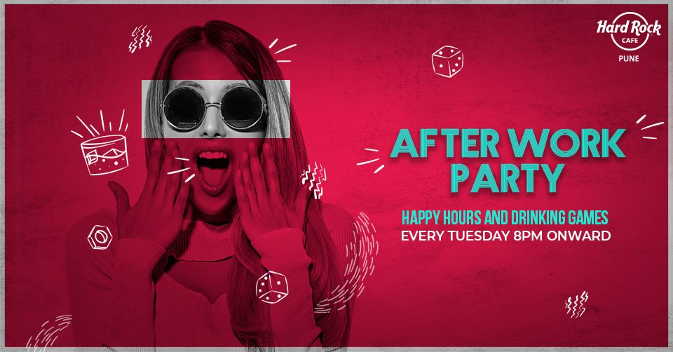 Afterwork party hard rock cafe pune
