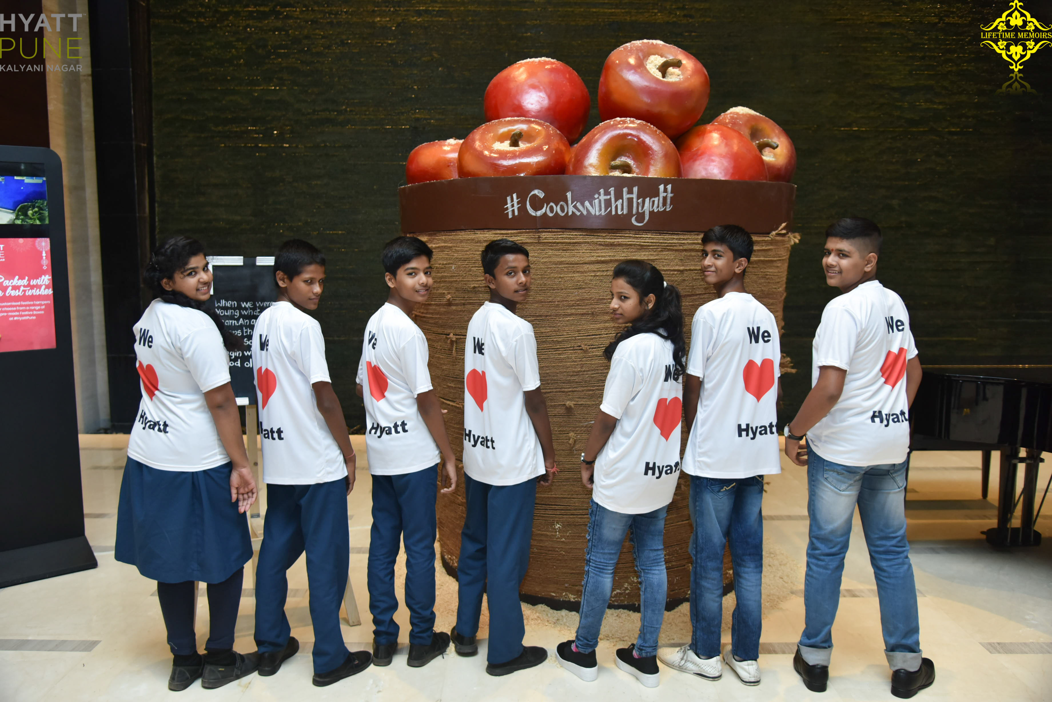 Special Participants from Teach For India at Hyatt Culinary Challenge Pune