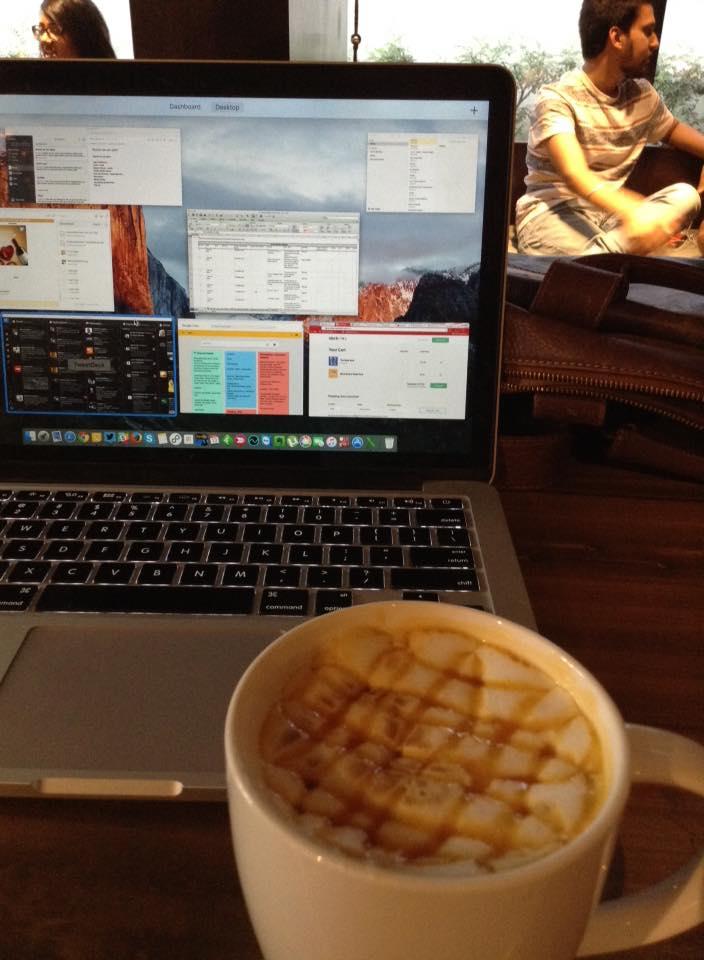 Starbucks space