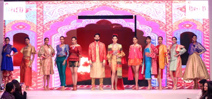 inifd deccan fashion show (1)