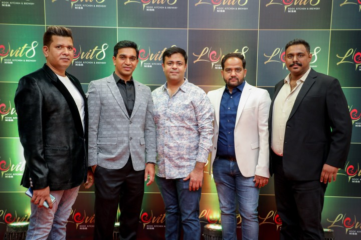 Image 01 (L to R)- Piyush Dugad, Santosh Dhankawade, Parag Anand, Nilesh Barne & Pranav Bhambure