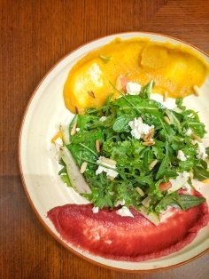 Poached Pears and Fennel Salad