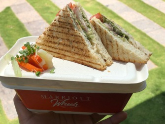 FOOD AT MARRIOTT ON WHEELS PUNE (1)
