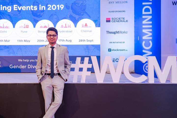 Mr. Naren Krishna, Founder & CEO Of Stockroom.io and Women Changemakers at the WCM 2019 Pune.