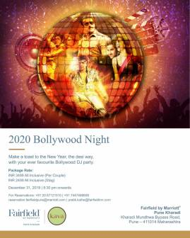 Ring in the New Year 2020 with a fun-filled holiday at Fairfield by Marriott Pune Kharadi (2)