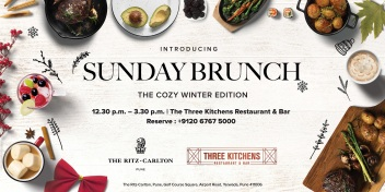 Sunday Brunch, Three Kitchens Restaurant and Bar, The Ritz-Carlton Pune.jpg